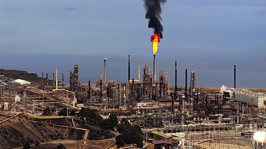 Flare refineria